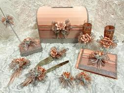 11 Piece Personalized Quinceanera Set PLUS FREE Doll Sweet S