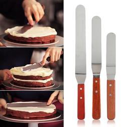 6/8/10inch Knife Spatula Icing Spreader Butter Cake Cream Pa